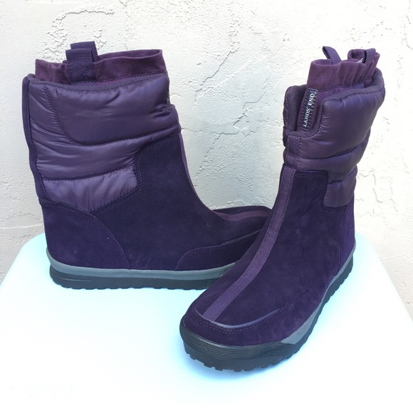 ecd2baf7a Land s End Purple Snow Boot NWOB